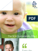 The SCA Sustainability Effect