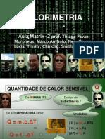 Calorimetria - Matrix