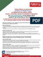 Alerte Etats Généraux de La Presse 01.12.2008