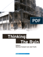Thinking the Ruin Jalal Toufic