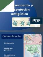 Procesamiento y Presentacion Antigenic A