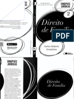 Sinopse Jurídica - Direito de Família - Carlos Roberto Gonçalves