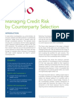 Quantifi Whitepaper - Managing Credit Risk by Counter Party Selection_Quantifi