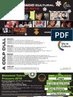 Programación Trimestral Primavera 2012