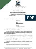 REGIMENTO INTERNO - CÂMARA MUNICIPAL DE GRANJA-CE - CORRETO