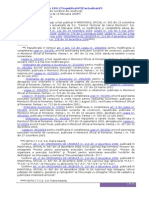 LEGE Nr 50 Privind Autorizarea Executarii Lucrarilor de Constructii (Actualizata Pana La Data de 14 Februarie 2009)