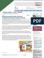 2011 - febbraio 24 - La Repubblica - Elettrosmog della Radio Vaticana, i residenti di Cesano saranno risarciti
