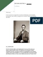 Una Derringer Para Matar a Lincoln
