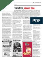 TheSun 2008-11-27 Page16 Dream Free Dream True