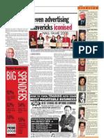 TheSun 2008-11-27 Page24 Seven Advertising Mavericks Iconised