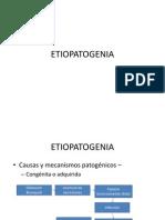 ETIOPATOGENIA BRONQUIECTASIAS