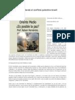 Desenredando el conflicto palestino-israelí