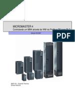 Configurando MM4 Atraves de IHM (Sem PLC) - 0807