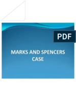 Marks and Spencers Case
