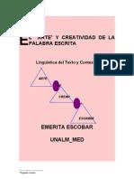 """"""" Hacia El Estudio Cohesion y Coherencia"""""""