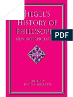Hegel's History of Philosohy