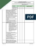 FOR-LP-012 LISTAS DE VERIFICACION_FISICOQUÍMICOS