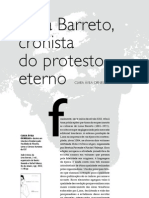 Lima Barreto - Cronista Do Protesto Eterno