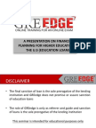 Fin Compass - Presentation on Financial Planning for Study in US