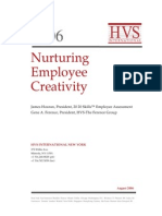 HVS - Nurturing Employee Creativity