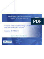 VMA14 Implementing Live Mobility With Virtual Fibre Channel