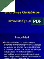 Geriatria - Unidad 07 - Sindromes ppt Inmovilidad y Caidas - Uas.cl
