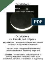 Occulation