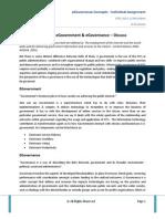 eGC Individual Assignment I & II -K Prashant CPEG IIM Indore