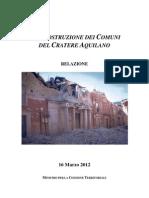 Relazione Definitiva Cratere Aquilano
