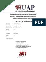 familia peruana ACTUALIZADA