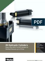 Cilindros hidráulicos Parker - 2H_1110-uk