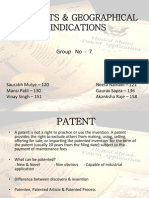 Patent & GI