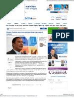02-03-12 UniradioInforma - Busca Puebla Recursos Extraordinarios Para El Campo