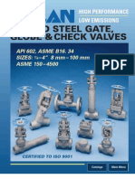 Velan Forged Steel Gate, Globe & Checks