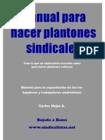 Manual Para Hacer Plantones Sindicales