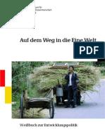 Bundesministerium für wirtschaftliche Zusammenarbeit und Entwicklung - 2008 - Weißbuch Entwicklungspolitik