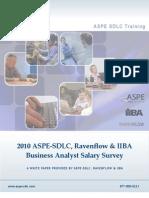 2010 BA Salary Survey