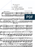 schubert sonate Bes