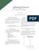 Lightning Dancer Mage Handbook