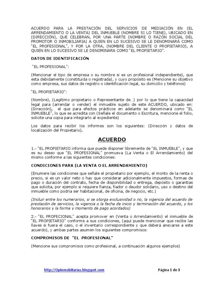Bonito Plantilla De Acuerdo De Ventas De Negocios Elaboración ...