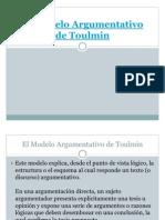 El Modelo Argumentativo de Toulmin