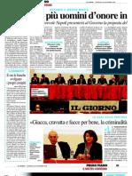 Il Giorno 30.11.2008 Convegno _Vecchie e Nuove Mafie, Le Mani Della 'Ndrangheta Sulla Brianza_Monza