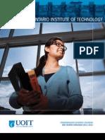 UOIT Academic Calendar 2011 2012