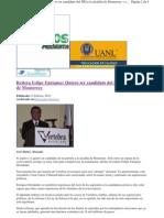 15-Feb-12-Reitera Felipe Enriquez quiero ser candidato del PRI a la alcaldía de Mty - Sucesos