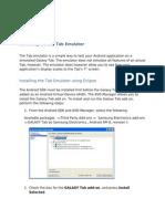 Tab Emulator