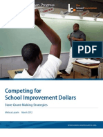 Competing for School Improvement Dollars
