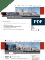 University Communications Website