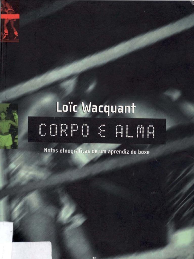 Loc wacquant corpo e almanotas etnogrficas de um aprendiz de boxe fandeluxe Image collections
