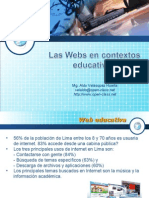 Web en contextos educativos