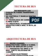 Arquitectura de Bus